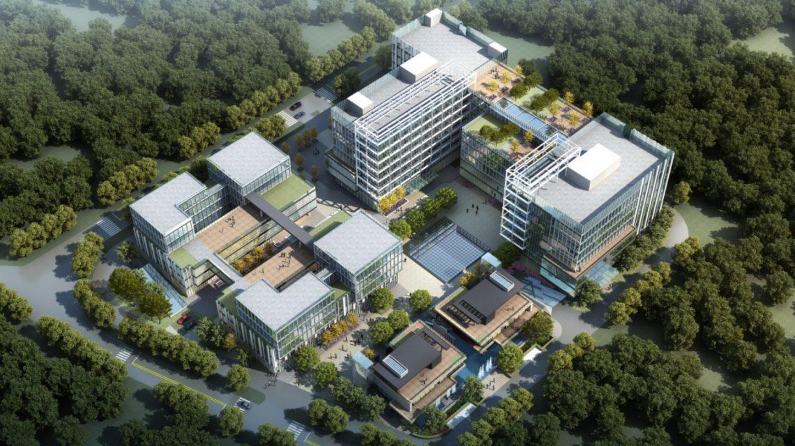 Shanghai Songjiang Wolong Office Buildings